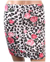 Liquorbrand Floral Leo Skirt  SKT-013