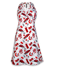 Liquorbrand Cherry Garage Dress  DRESS-078