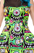 Sourpuss Fink Faces Mary Lu Dress  SP-DR-352