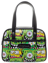 Sourpuss Fink Faces Mini Bowler Purse SP-PU-137