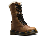 Dr. Martens Aimilita Fur Lined Tan Grizzly  DR-22693220