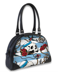 Liquor Brand Nautical Skull Bowling Bag  B-OBW-049