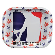 First Earth Major League Stoner Metal Tray Small