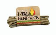 I-tal Hemp Wick Small 3.5 Feet