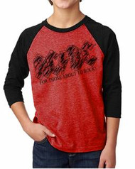 AC/DC For Those About Rock Kids Raglan Tee