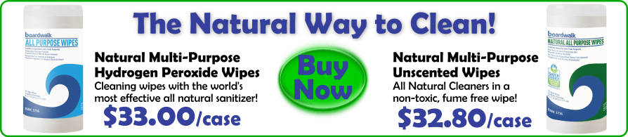 Boardwalk Natural Wipes