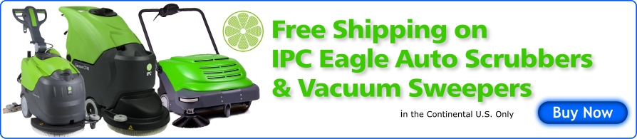 Free Shipping IPC Eagle Auto Scrubbers/Vacuum Sweepers