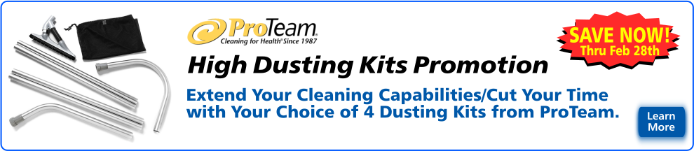 ProTeam High Dusting Kit Promotion