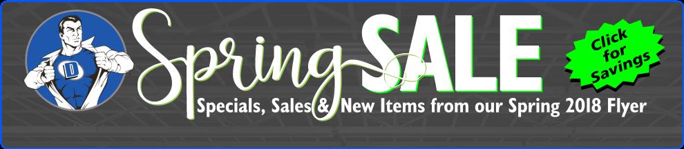 Spring 2018 Sale