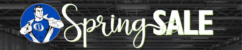 Spring Sale Header Image
