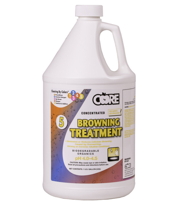 Core Carpet Browning Treatment Carpet Stain Remover