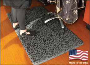 salon decor anti- fatigue floor mats | barber floor mats