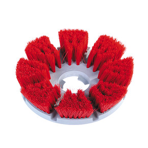 General purpose brush for smooth floors and tiles.