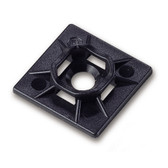 """Cable Ties Mounting Back 1"""" Blk."""