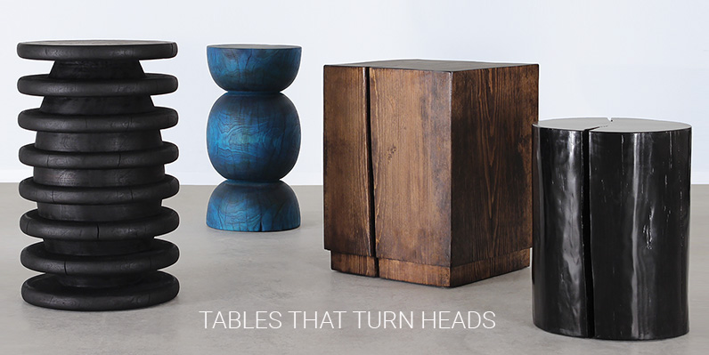 TABLES THAT TURN HEADS