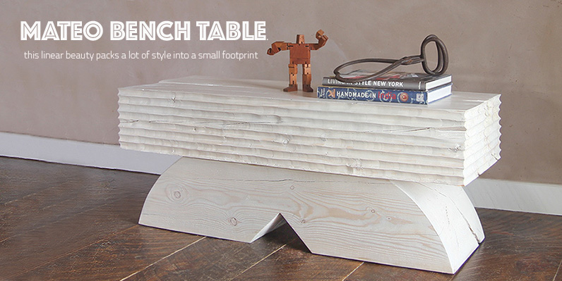 Mateo Bench Table