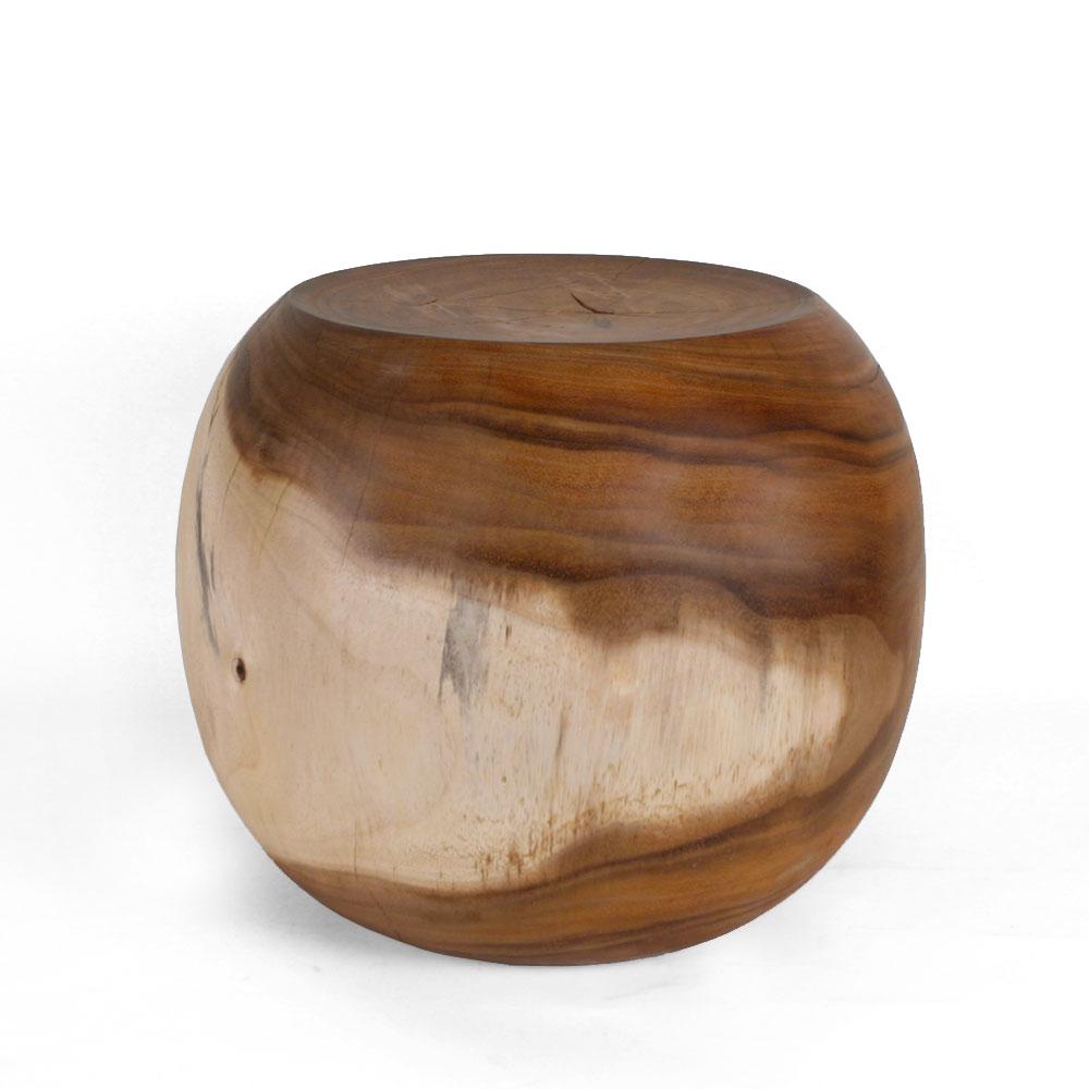 Wooden Acacia Stool
