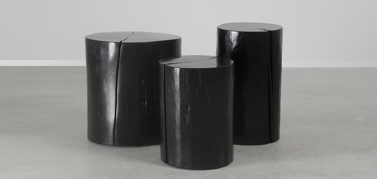 What Will Emerge Will Be A Stunning Trio Of Wood Log Tables That We Refer  To As The Lacquered Log Tables, Part Of Our Popular Wild West American Made  ...