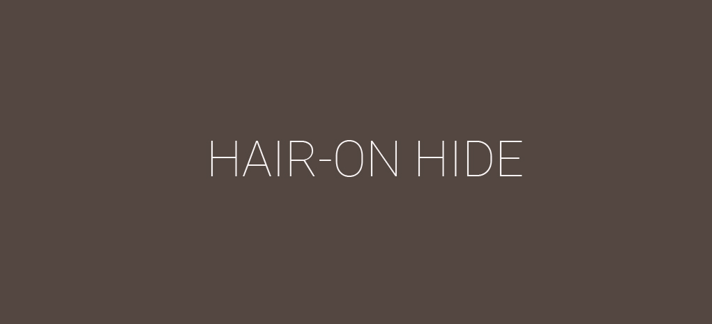 Hair-On Hide
