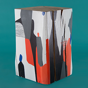 La Cueva Painted Cube