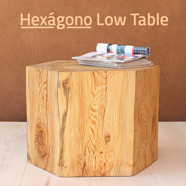 Hexágono Low Table