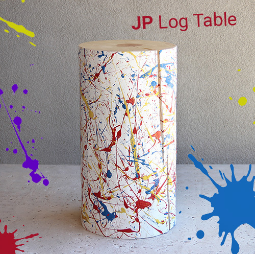 JP Splatter Painted Table