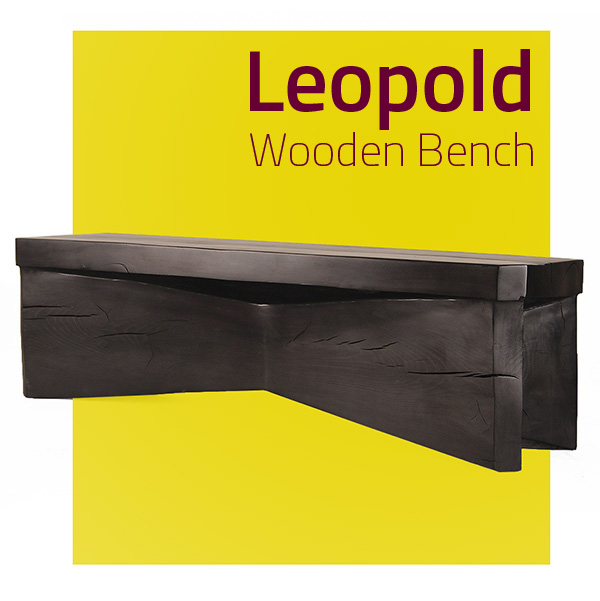 Leopold Wooden Bench