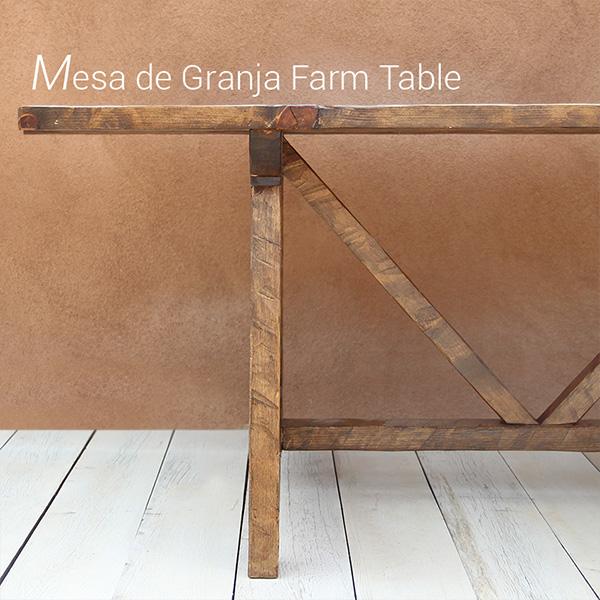 Mesa de Granja Farm Table