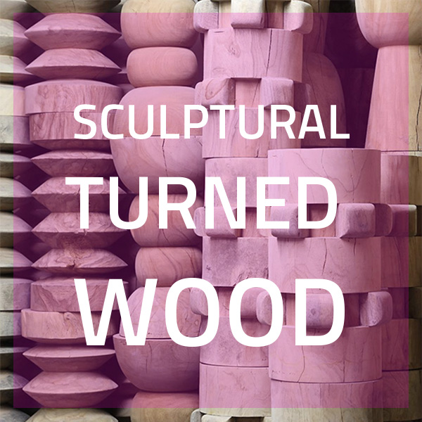 Sculptural Turned Wood