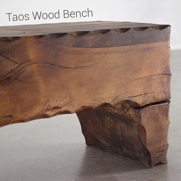 Taos Wood Bench