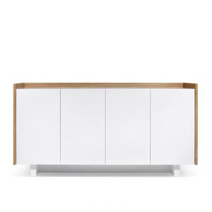 Skin Sideboard 63 x 18 x 32 H inches Oak Veneer, Lacquered Wood