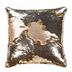 As Shown: Adrina Pillow - ADN-001 Size: 18 x 18 inches Material: Polyester Style A