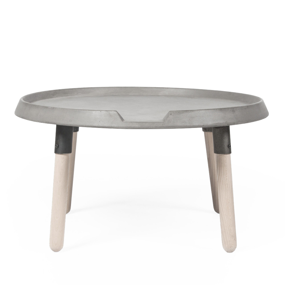Concrete Coffee Table Pfeifer Studio - Oval concrete coffee table