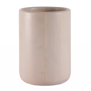 As Shown: D'Avila Maple Waste Bin Size: 10 diameter x  14 H inches Material: Maple Color: Natural