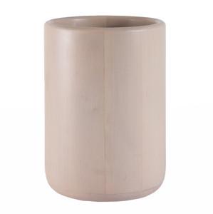 D'Avila Maple Waste Bin 10 diameter x  14 H inches Maple