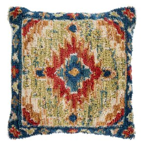 Teayo Pillow - YRI-003 18 x 18 inches Polyester, Linen