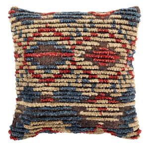 Tichka Pillow - TCK-001 20 x 20 inches Jute, Wool