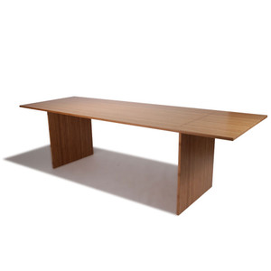 Tabula Rasa Table 36 x 72 x 28 H inches Sustainable Bamboo Caramelized