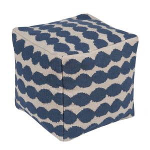 East Bay Artisan Pouf - LJPF-001 20 x 20 x 20 H inches Wool, Cotton
