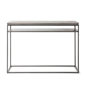 Perspective Concrete and Steel Console 47 x 14 x 33.5 H inches Concrete, Steel
