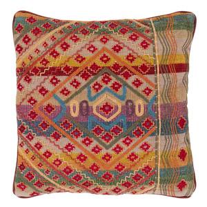 As Shown: Tribal Pillow - MOP-001 Size: 18 x 18 inches Material: Cotton  Description: