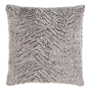 As Shown: Black and Grey Pillow - FLA-001 Size: 18 x 18 inches Material: Polyester