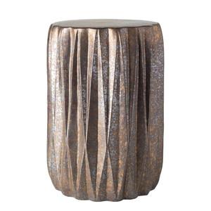 Tahiti Ceramic Stool 12.25 dia x 17.25 H inches Ceramic Style B