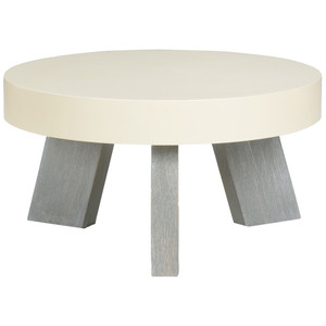 Lakewood Table 24 x 24 x 12 H inches Wood Veneer, Lacquered Wood