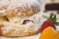 Fruit and Cream Croissant