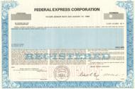 Federal Express bond specimen 1985 (Fedex)