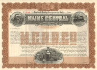 Maine Central Railroad Company bond certificate 1912