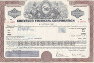 Chrysler Finance bond - brown