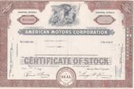 American Motors 1959  stock cetificate - Romney as president