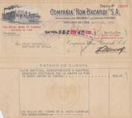 Ron Bacardi (Cuba) check 1950